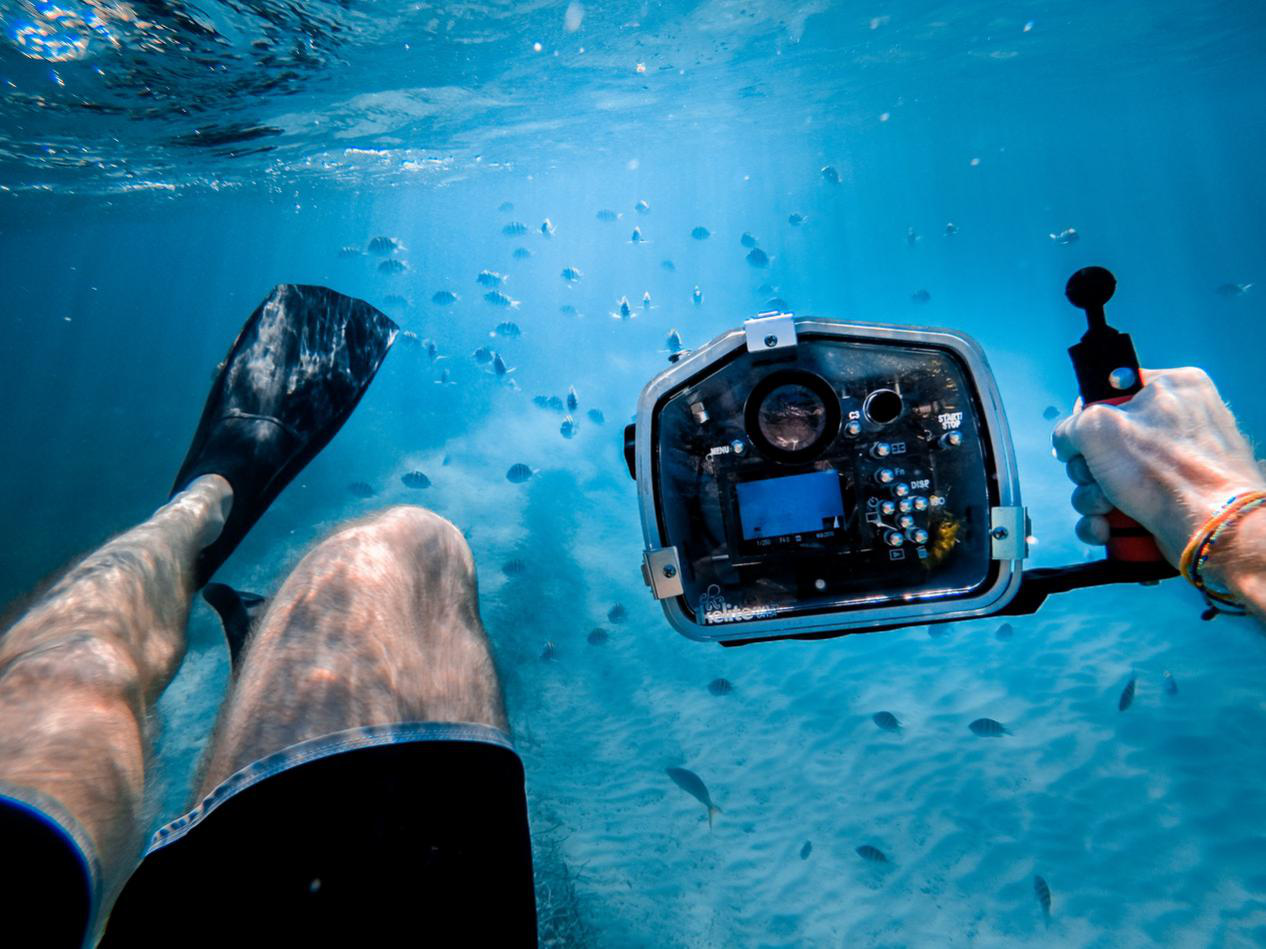 What is underwater photography?